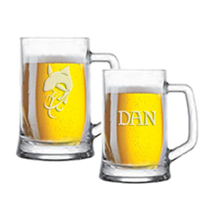 Beer Tats Classic Beer Mugs
