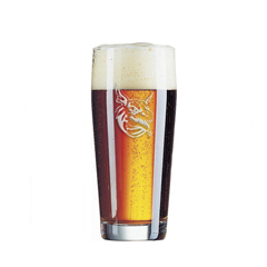 Beer Tats Willi Becher Glass